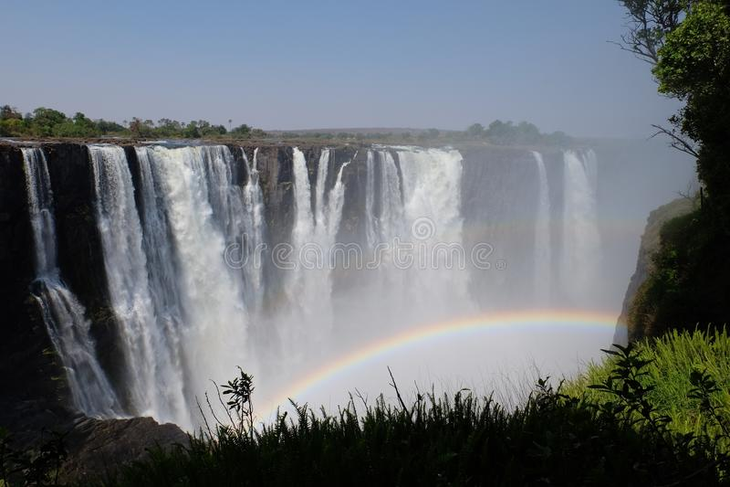 Victoria waterfalls stock photos