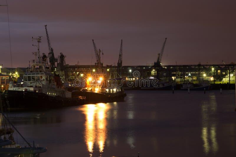 Victoria Wharf at Dawn royalty free stock photography