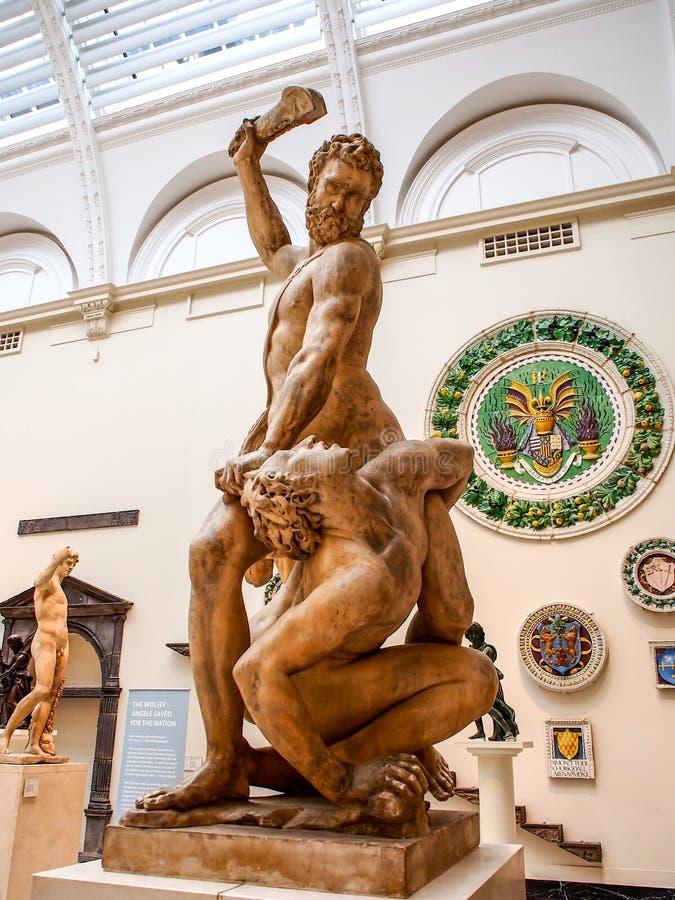 Victoria y Albert Museum, Londres, Reino Unido imagenes de archivo
