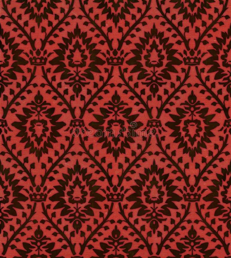 Victoriaans Behang 101 royalty-vrije illustratie