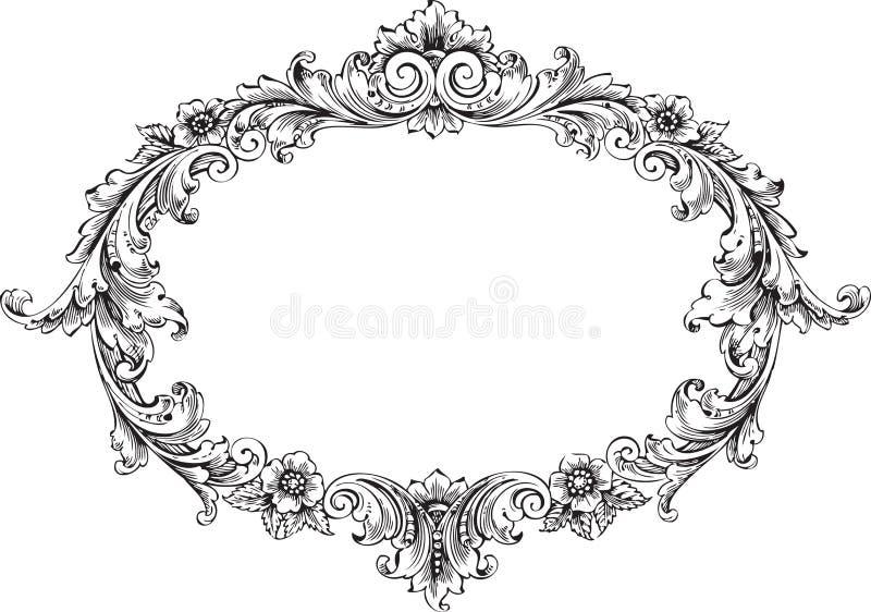 Victoriaans Frame royalty-vrije illustratie