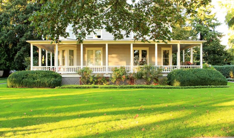 Victoriaans Huis stock afbeelding