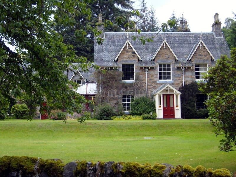 Victoriaans Schots Huis royalty-vrije stock foto
