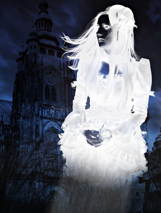 Victoriaans Spook royalty-vrije stock afbeeldingen