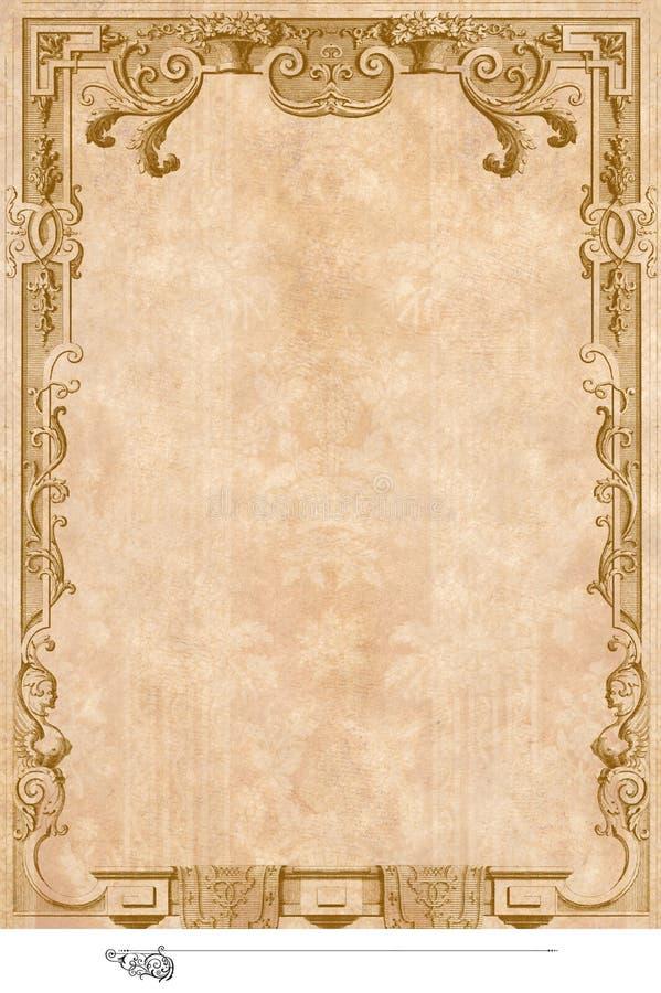 Victoriaanse Achtergrond Stock Afbeeldingen