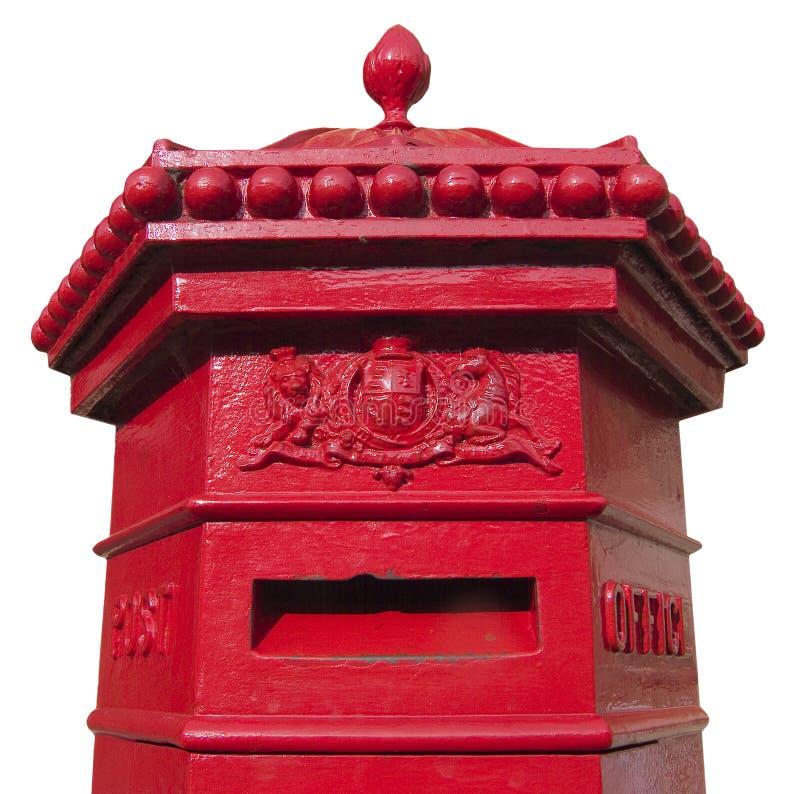 Victoriaanse brievenbus royalty-vrije stock afbeelding