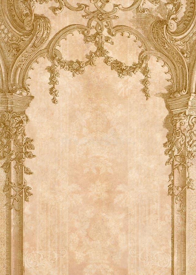Victorian background royalty free illustration