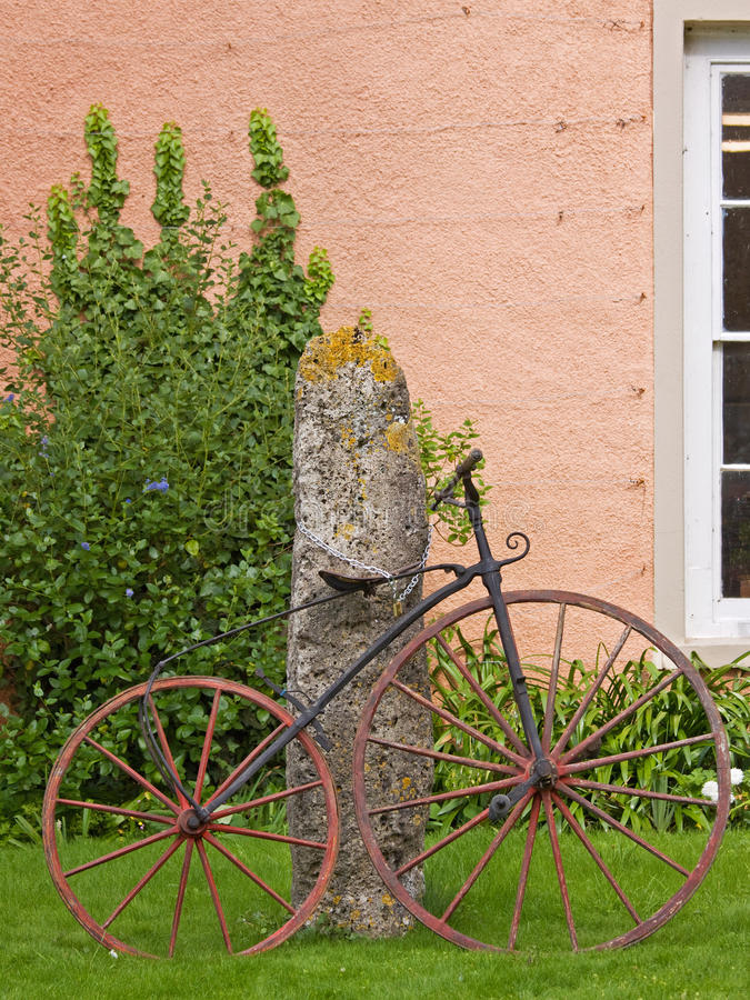Free Victorian Bicycle Stock Image - 21313751