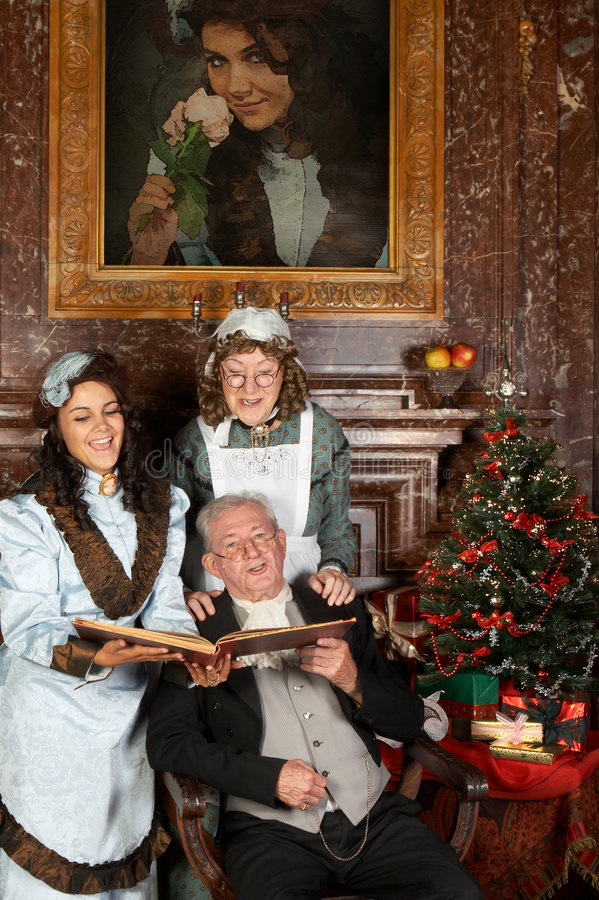 Download Victorian Christmas Stock Image - Image: 6479321