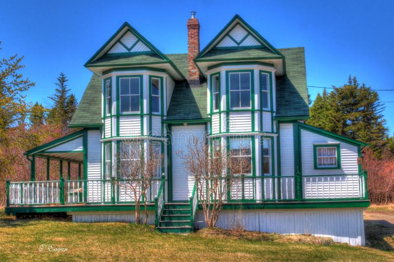 Victorian Cottage royalty free stock images