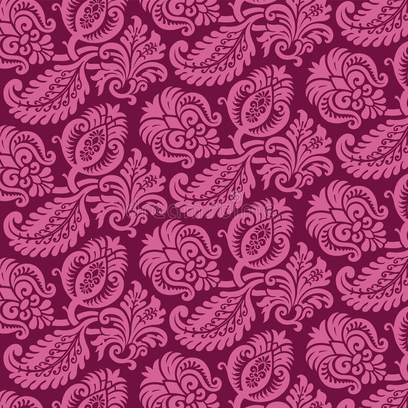 Download Victorian Damask Pattern stock vector. Illustration of repeating - 18413509