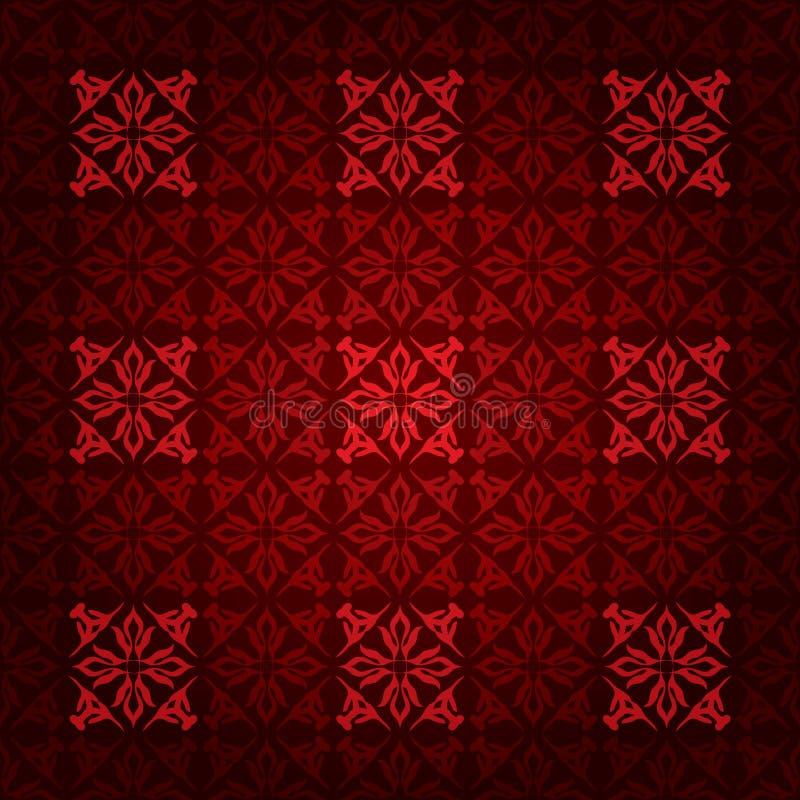 Victorian del cuadrado rojo libre illustration
