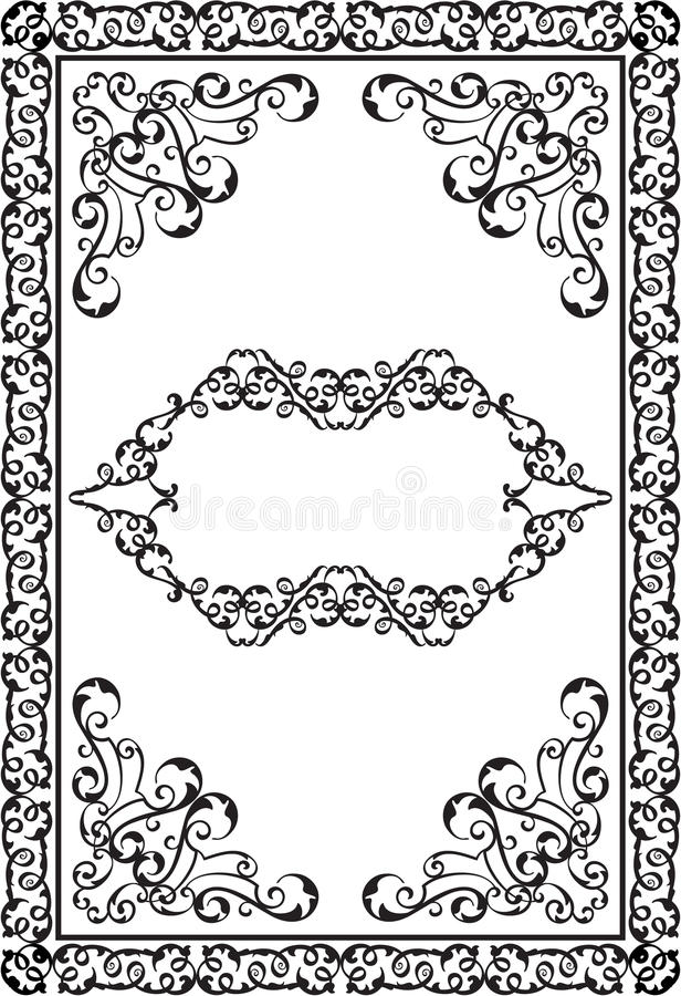 Download Victorian Design Elements And Page Decoration Stock Illustration -  Image: 50047276
