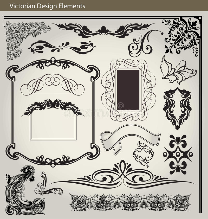 Download Victorian Design Elements Royalty Free Stock Photo - Image: 32826325