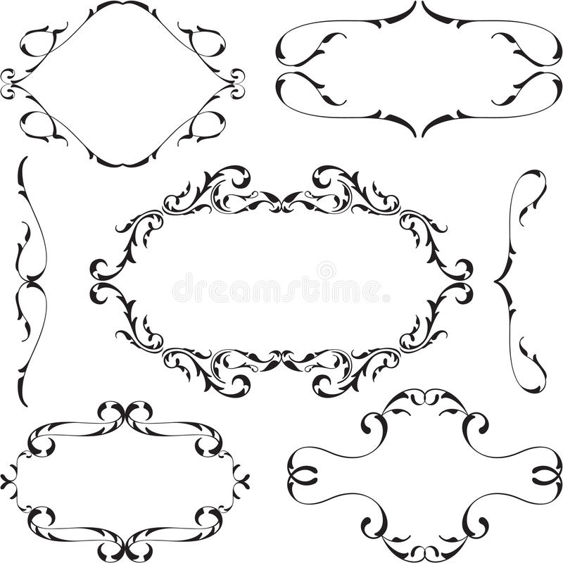 Victorian Design Elements victorian design elements set stock vector - image: 59260132