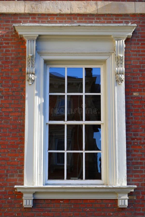 Victorian exterior window stock photography