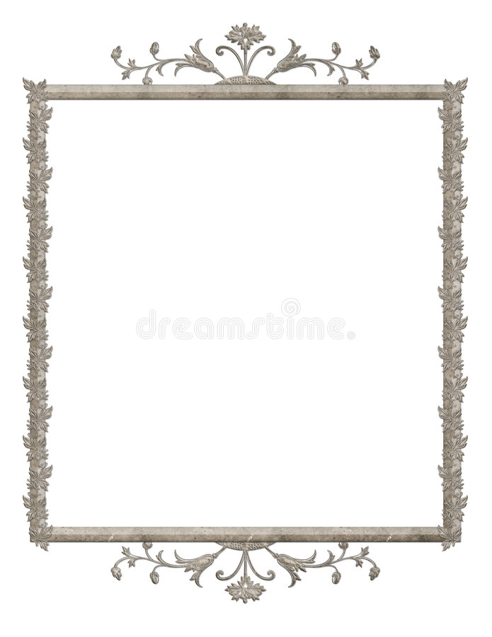 Victorian Frame vector illustration