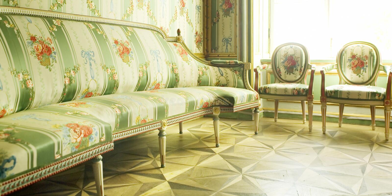 Victorian furniture stock photo