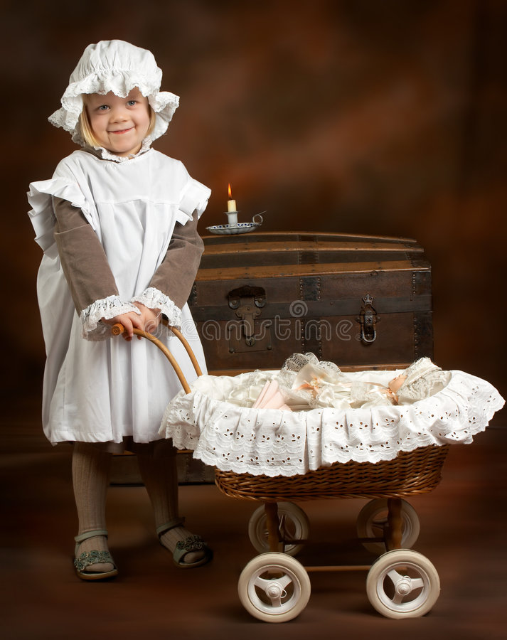 Victorian girl stock photos