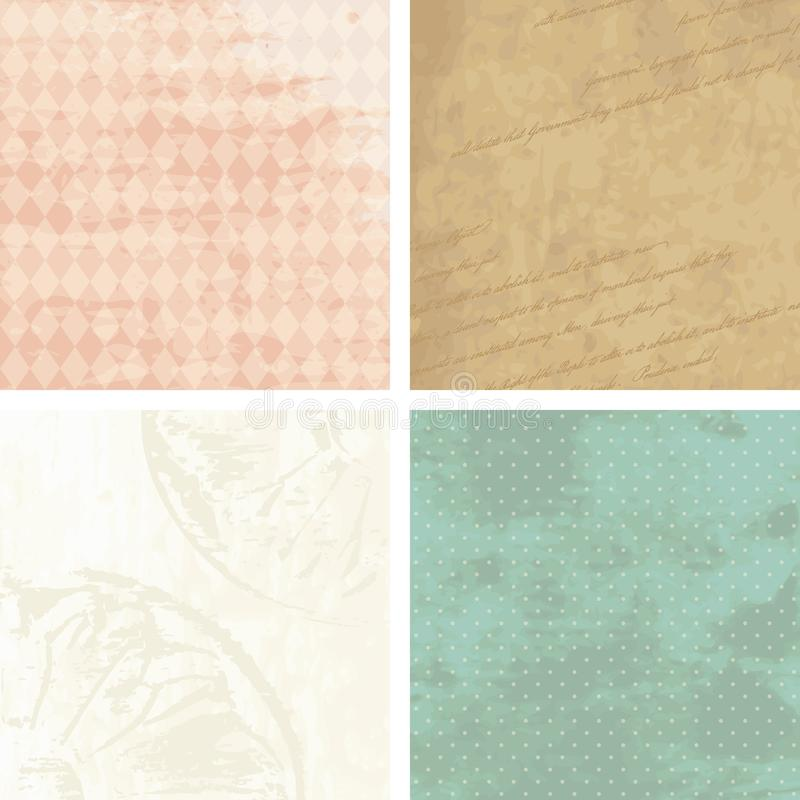 Free Victorian Grunge Backgrounds Royalty Free Stock Photography - 20771867