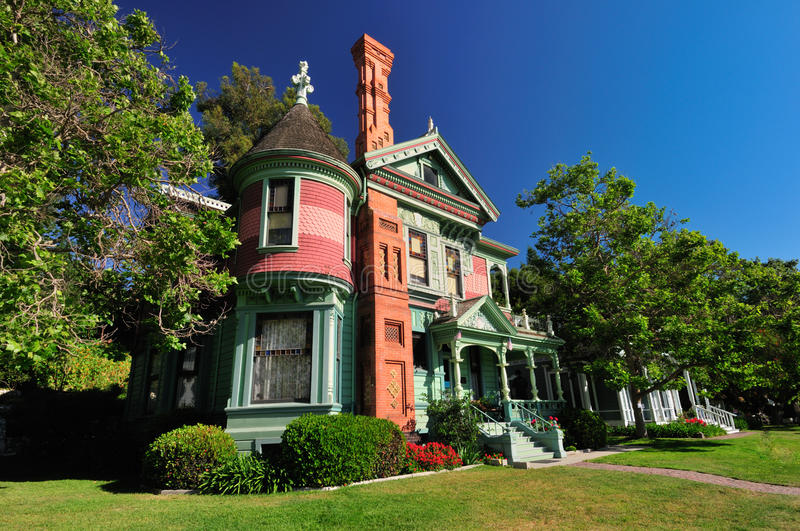 Victorian house royalty free stock photos