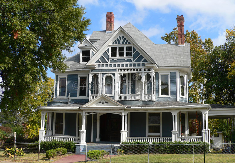 Victorian house. Historic Victorian Style House