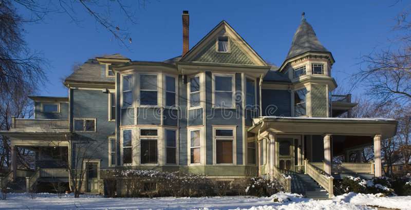 Download Victorian House stock photo. Image of frank, luxury, district - 8730542