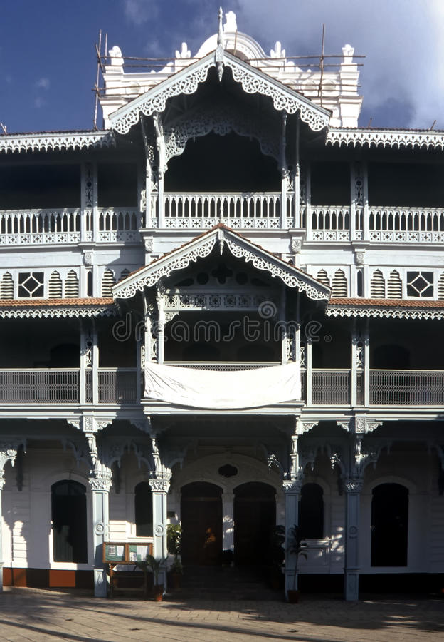 Victorian House, Zanzibar Stock Photos