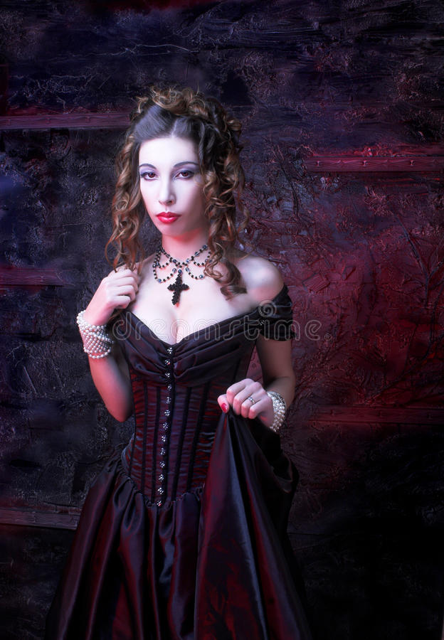 Download Victorian lady. stock image. Image of girl, historical - 38024933