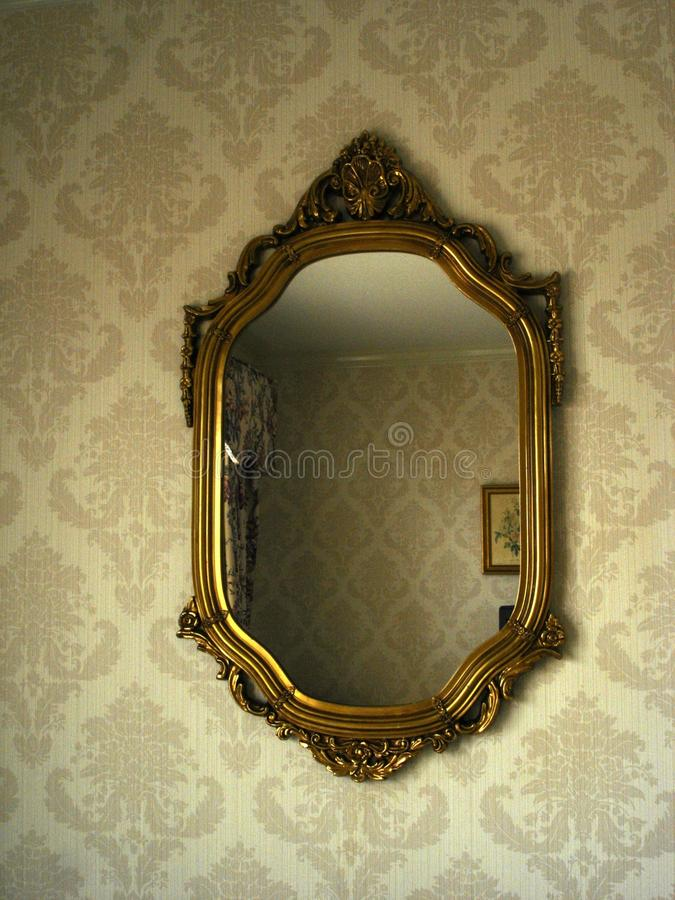 Victorian Mirror royalty free stock photography
