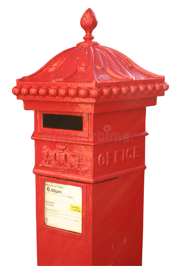 Download Victorian post box stock photo. Image of hexagonal, design - 1415402