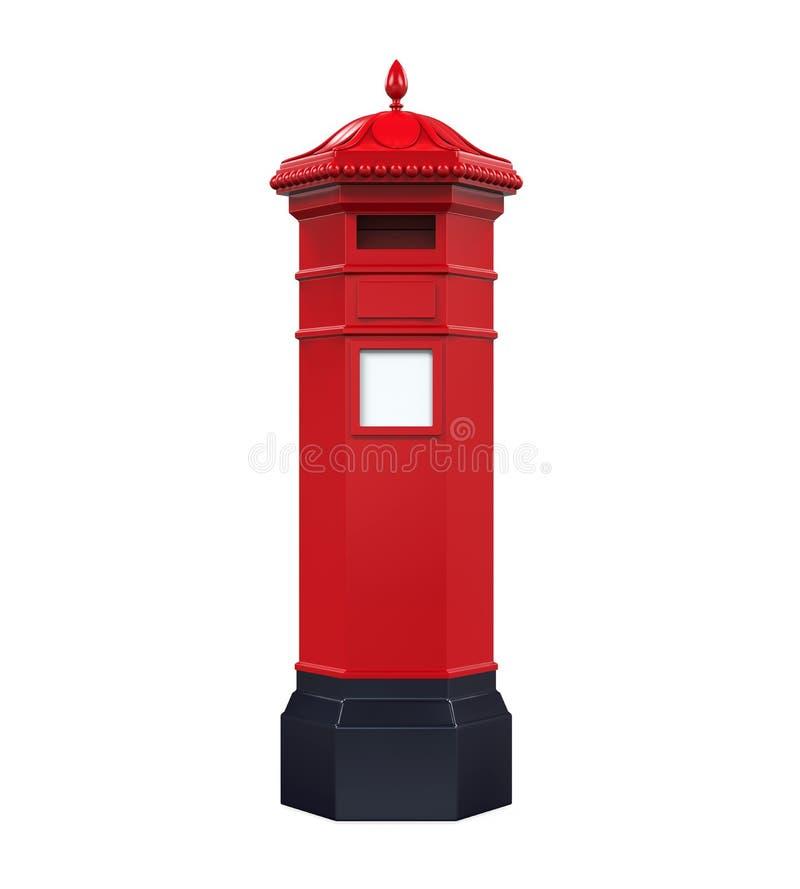 Victorian Post Box vector illustration