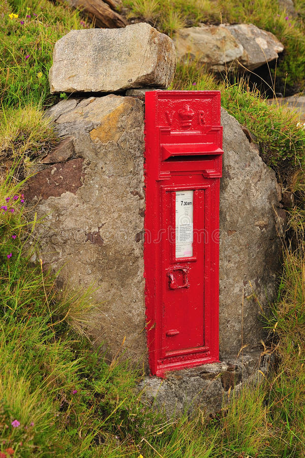 Free Victorian Post Box, Scotland Stock Image - 26199001