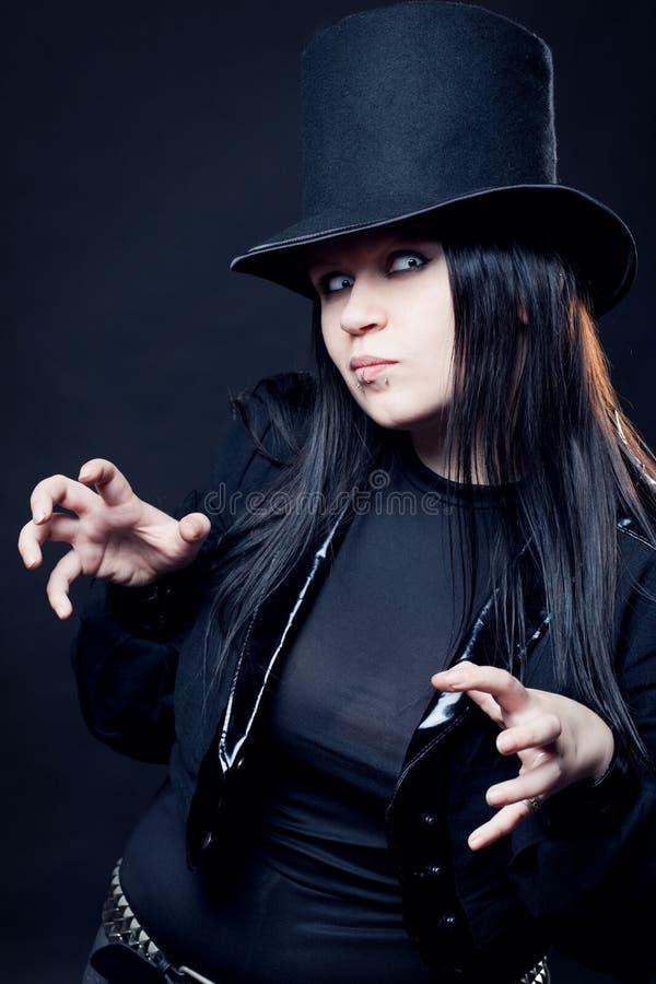 Download The Victorian sorcerer stock image. Image of black, deceit - 14625191