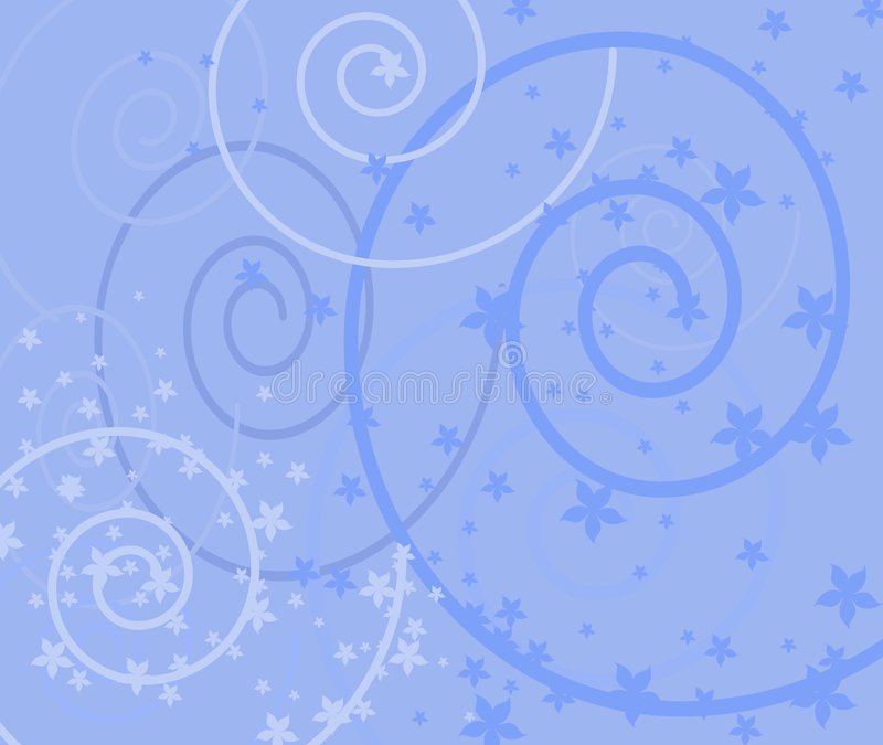 Download Victorian Style Blue Background Stock Illustration - Illustration of pattern, garden: 471341
