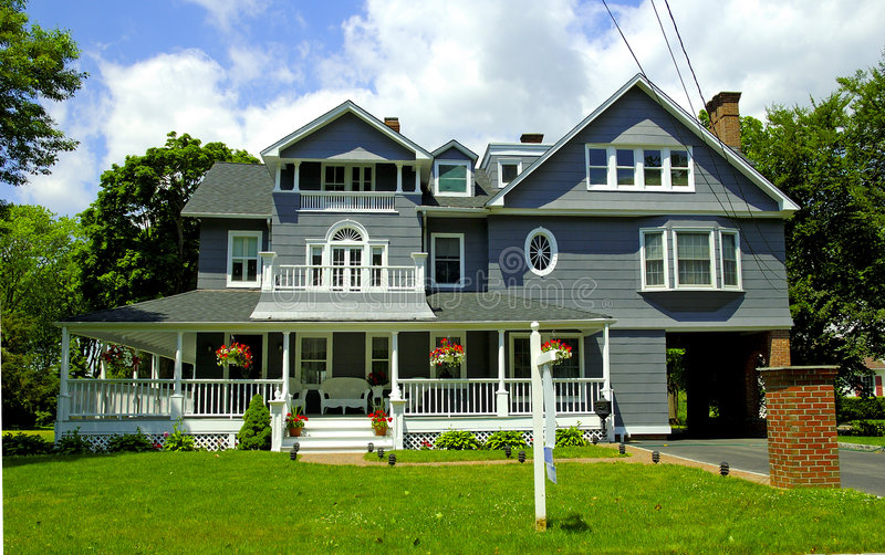 Victorian Style Home. Photo of a Victorian Home