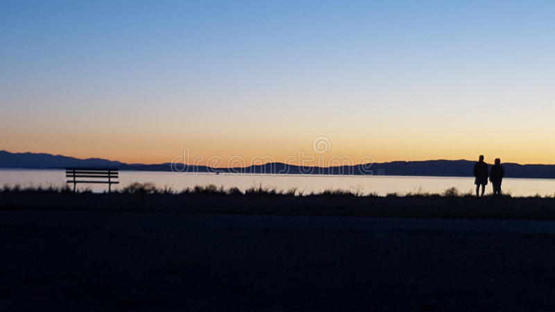 Victorian Sunset royalty free stock photography