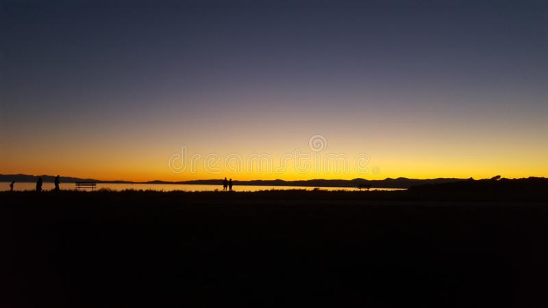 Victorian Sunset stock images