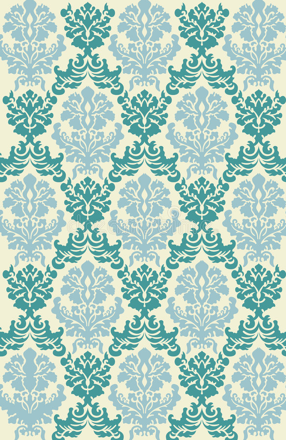 Free Victorian Wallpaper Vector Stock Photography - 1105622