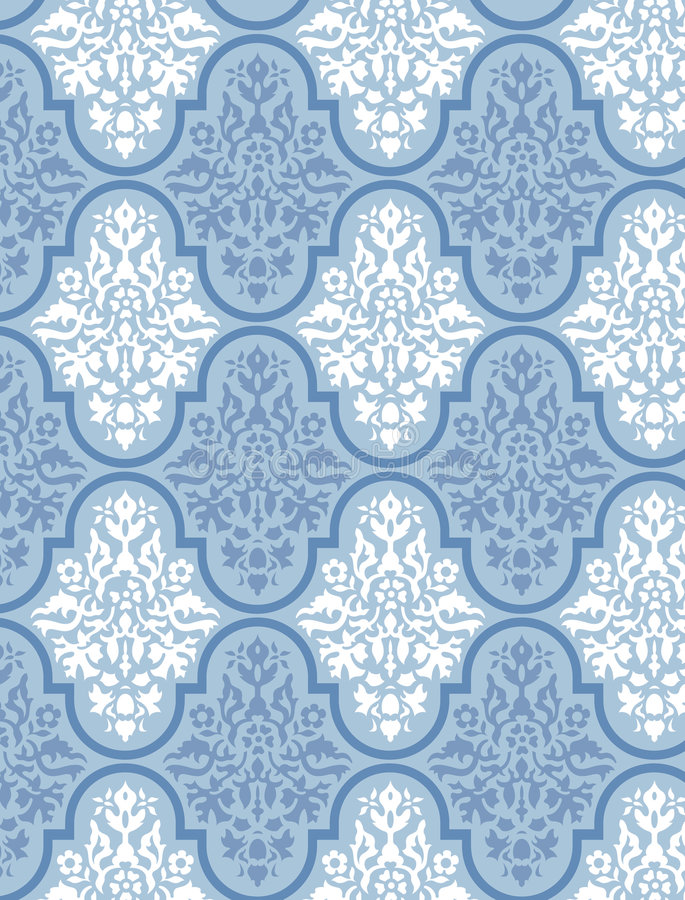 Free Victorian Wallpaper Vector 4 Stock Image - 1159111