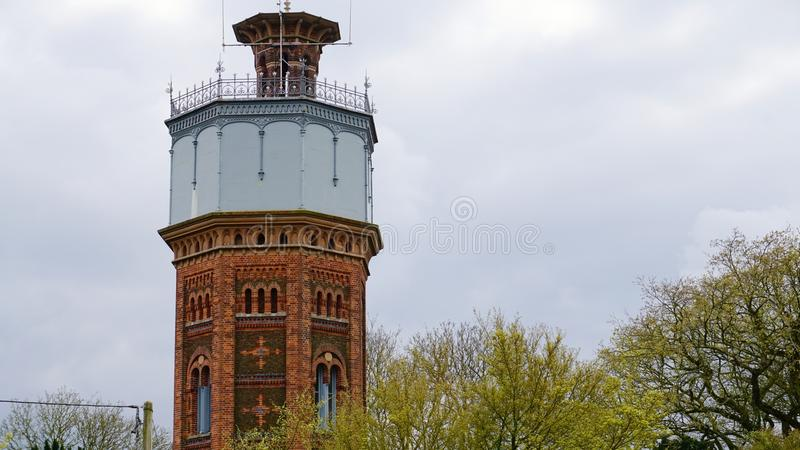 Victorian water tower. royalty free stock photos