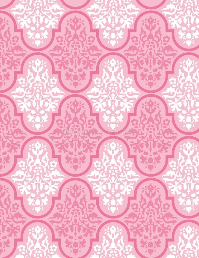 victorianwallpaper för 8 vektor royaltyfri illustrationer