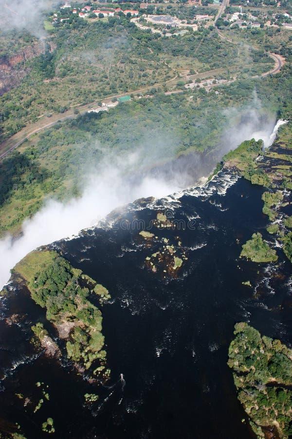 Victoriawaterfalls fotografie stock libere da diritti