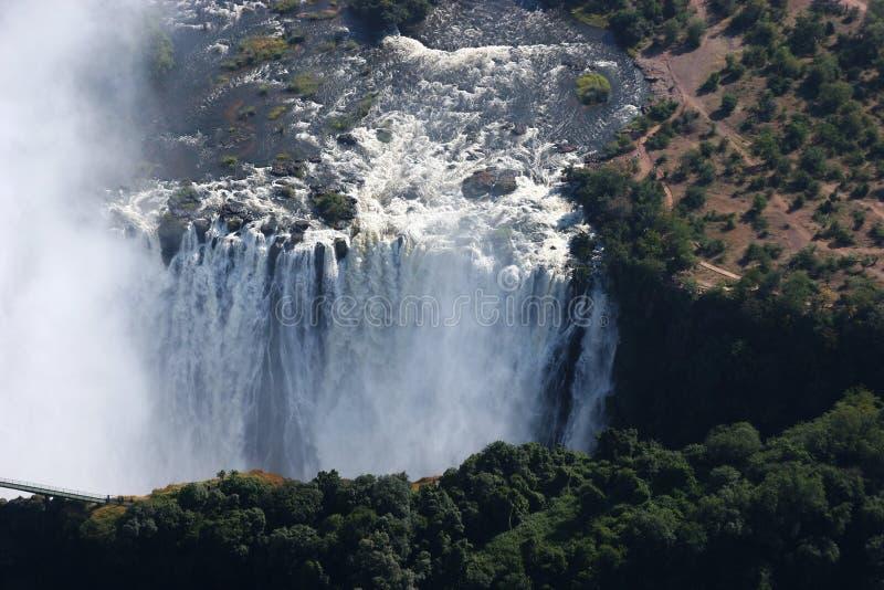 Victoriawaterfalls fotografia stock