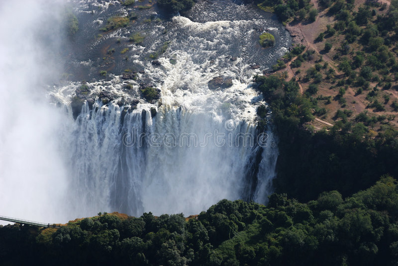 Victoriawaterfalls stock photo