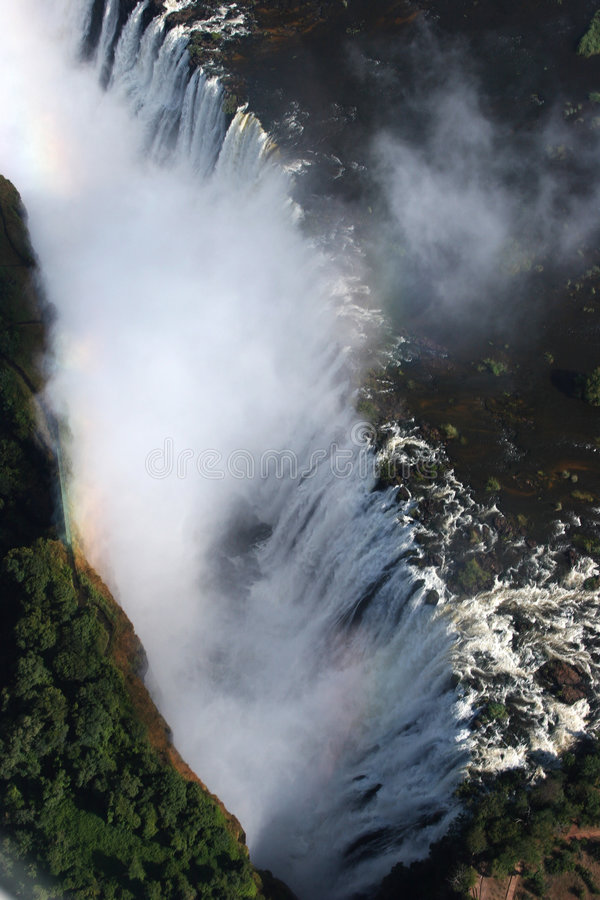 Victoriawaterfalls immagine stock