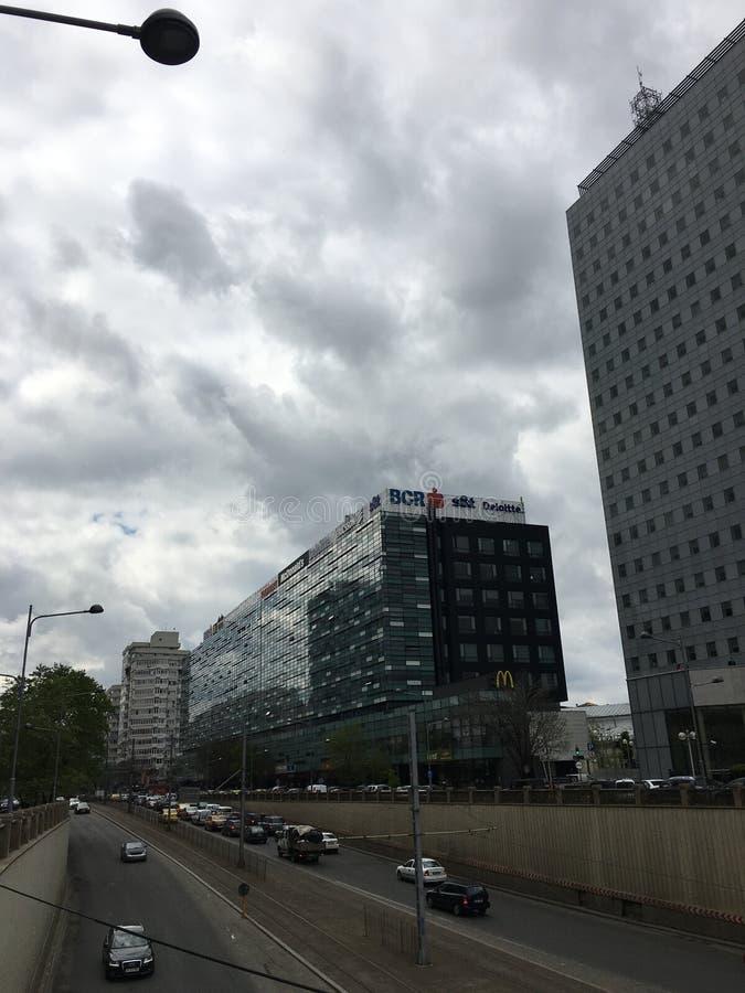 Victorieivierkant in Boekarest stock afbeelding