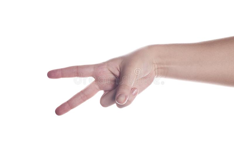 Download Victory stock photo. Image of gesturing, shape, expressing - 5408084