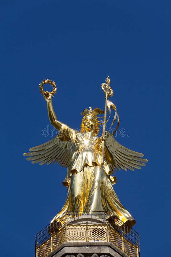 Victory Column à Berlin (Siegessaeule) images libres de droits