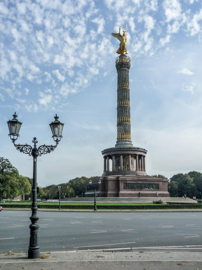 The Victory Column - Berlin. The Victory Column is a monument in Berlin, Germany royalty free stock image